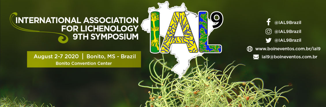 IAL 9 - INTERNATIONAL ASSOCIATION FOR LICHENOLOGIA 9TH SYMPOSIUM